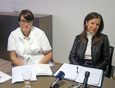 Novinarska konferenca v ZD idrija