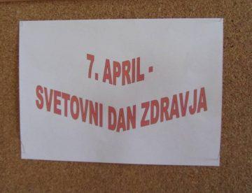 7APRIL JE SVETOVNI DAN ZDRAVJA
