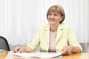Nova direktorica ZD Idrija Marija Magajne