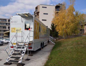 Mobilna enota Dora 2. v Idriji