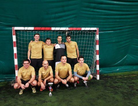 Zmaga nogometne ekipe ZD Idrija na dobrodelnem turnirju foto