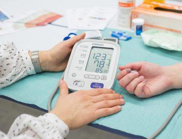 Meritve krvnega tlaka