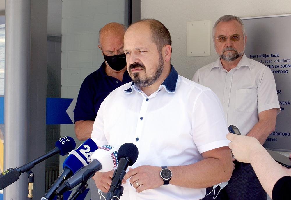 Obisk ministra v ZD Idrija